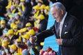 «Я люблю тебя до слёз»… В преддверии Дня первого президента более трёх тысяч студентов в Астане одновременно признаются в любви к Назарбаеву