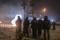 Патриарх Кирилл: «Помолимся о прекращении раздора и смуты на Украине!»