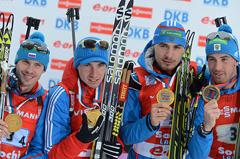 Мы чемпионы, мы первые!.. Российская олимпийская сборная повторила сразу два рекорда: советский— по медалям, завоеванным на одной Олимпиаде, и российский — по числу выигранных золотых медалей