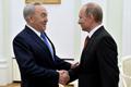 Назарбаев поздравил Путина с успешным завершением ОИ «Сочи-2014»