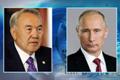 Украинский кризис: реакция Казахстана... Нурсултан Назарбаев провёл телефонные переговоры с Владимиром Путиным и Ангелой Меркель