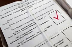 «Мы идем домой»... 96,7% жителей украинской автономии проголосовали за присоединение к России