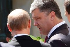 Искусство убеждения... Путин и Порошенко договорились урегулировать кризис на юго-востоке Украины мирным путём