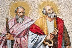 Апостолы Петр и Павел: два непохожих апостола