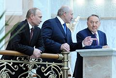 Путин против Назарбаева... «Ссора» президентов прикрыла дипломатическое фиаско Европы