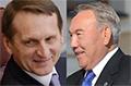 Вопреки санкциям... Назарбаев в беседе со спикером ГД отметил рост объемов торговли с Россией
