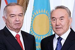 Гляжусь в тебя, как в зеркало... Назарбаев и Каримов «сверили часы»