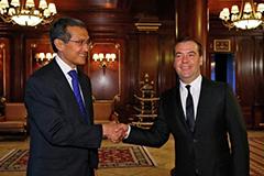 Премьеры России и Киргизии обсудят экономическое сотрудничество