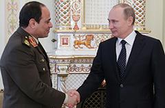 Визит Путина в Египет выводит российско-арабские отношения на новый уровень