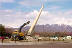 Узбекистан: В Ташкентской области снесли обелиск воинам, погибшим в Великой Отечественной войне