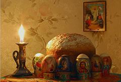 Христос воскресе из мертвых, смертию смерть поправ и сущим во гробех живот даровав!